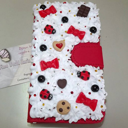 cover smartphone decorato con FImo