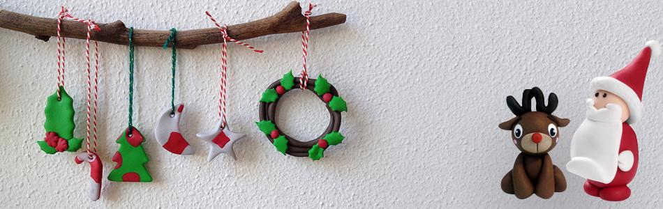 Lavoretti Di Natale Con Pasta Fimo.Decorazioni Di Natale In Fimo Tante Idee Creazioni In Fimo