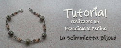 tutorial bracciale perline