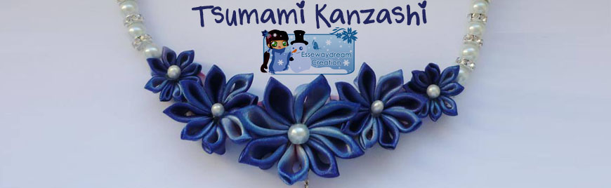 Tsunami Kanzashi