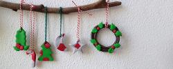 decorazioni di natale creazioni natalizie di fimo christmas creations