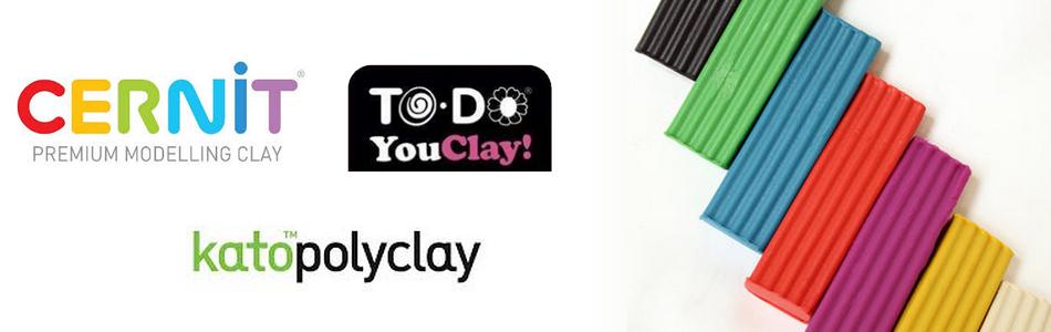 paste polimeriche modellabili cernit premo fimo kato to do clay