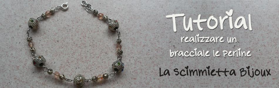 tutorial braccialetto perline